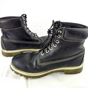 separation shoes a09e9 07fe0 Timberland Shoes - Timberland 27023 Mens 11.5M Black Ankle Boot 80-12